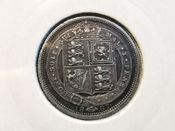 Victoria, Silver (.925), Jubilee Head Sixpence 1887, VF, AD243